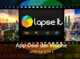 Lapse It: Gut bewertete Zeitraffer-App im Playstore für 10 Cent
