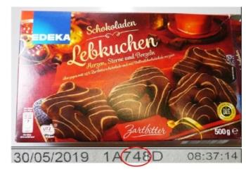 Rückruf: Plastikteile in Schokoladen-Lebkuchen von Edeka gefunden
