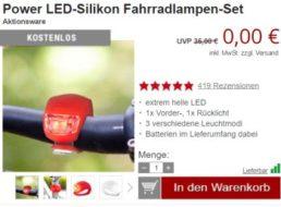 Druckerzubehoer.de: LED-Fahrradlampen-Set für 5,97 Euro mit Versand