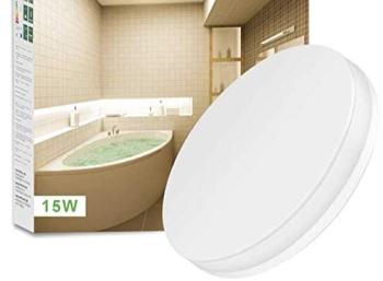 Amazon: Wasserfeste LED-Deckenleuchte mit Top-Bewertungen für 15,99 Euro