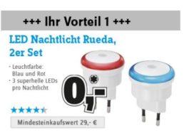 Conrad: LED-Spezial mit Gratis-Nachtlicht und Schnäppchen-Birnen