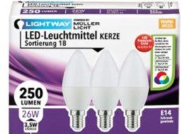 Aldi-Süd: Energiespar-Spezial mit LED-Birnen und -Reflektoren