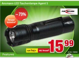 Völkner: Ansmann LED Taschenlampe für 15,99 Euro frei Haus