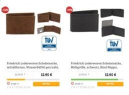 Dealclub: Leder-Geldbörsen mit RFID-Schutz für 12,95 Euro frei Haus