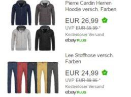 Lee: Stoffhose in verschiedenen Farben für 24,99 Euro frei Haus
