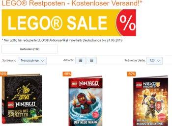 Terrashop: Lego-Sale mit Gratis-Versand ohne Mindestbestellwert