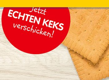 Gratis: Leibniz Keksbotschaften zum Nulltarif versenden
