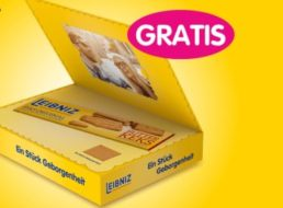 Gratis: Leibniz-Box mit Keksen geschenkt beim Kauf von drei Produkten