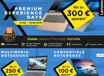 Lenovo: Rabattaktion mit Notebooks, Tablets und Convertibles zu Schnäppchenpreisen
