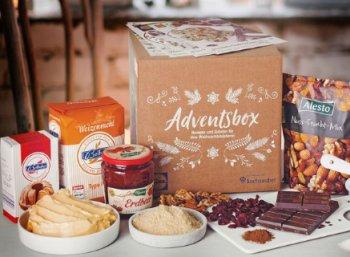 Lidl: Adventsbox mit Zutaten für vier Rezepte zum Preis von 14,99 Euro