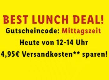 Lidl: Gratis-Versand in den Mittagsstunden ab 30 Euro Warenwert