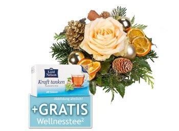 Lidl: Weihnachts-Blumenstrauß mit Präsent ab 14,99 Euro frei Haus