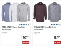 Lidl: Bügelfreie Businesshemden für 9,99 Euro online und im Discounter