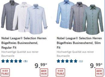 Lidl: Bügelfreie Business-Hemden von Seidensticker-Tochter für 9,99 Euro