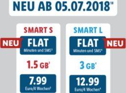 Lidl Connect: Monatlich kündbare Allnet- und SMS-Flat mit Datenflat für 7,99 Euro