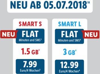 Lidl Connect: Monatlich kündbare Allnet- und SMS-Flat für 7,99 Euro