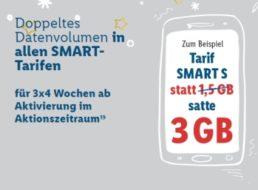 """Lidl Connect: Tarif """"Smart S"""" kurzzeitig mit doppeltem Volumen"""