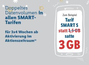 """Lidl Connect: Tarif """"Smart S"""" jetzt mit Telefon- und SMS-Flat für 7,99 Euro"""
