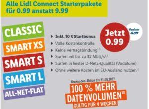 Knaller: Lidl Prepaidkarte mit 10 Euro Guthaben für 99 Cent frei Haus