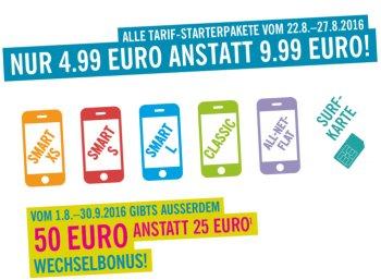 Lidl Connect: SIM-Karte für 4,99 Euro mit bis zu 65 Euro Guthaben