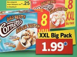 Lidl: Cornetto Achterpack für 1,99 Euro sowie weitere Markenschnäppchen