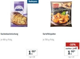 Lidl: Ein-Euro-Woche mit 17 Produkten für je einen Euro