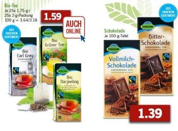 Lidl: Fairtrade-Spezial mit ausgewählten Aktionsprodukten, auch online
