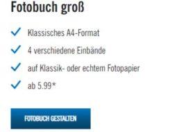 Lidl: 20 Prozent Fotobuch-Rabatt ohne Mindestbestellwert bis Ende März