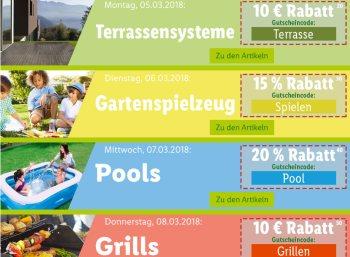 Lidl: Garten-Rabatt auf einzelne Produkte bis Freitag abend