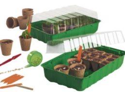 Lidl: Garten-Spezial mit Holzfliesen, Unkraufvlies und Frühbeet-Startersets