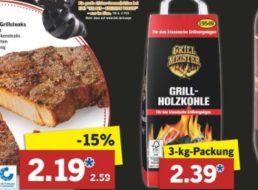 Lidl: Grillkohle im 3-Kilo-Pack für 2,39 Euro am Super-Samstag