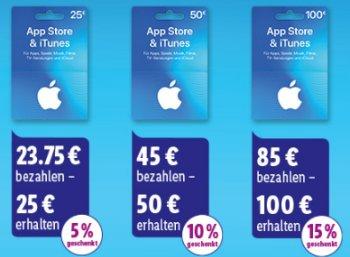 Lidl: iTunes-Guthabenkarten mit bis zu 15 Prozent Rabatt
