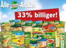 Lidl: 30 Prozent Rabatt auf alle Knorr-Artikel bis Samstag