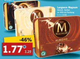 Lidl: Viererpack Magnum für 1,77 Euro ab Montag