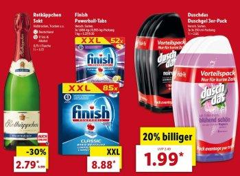 Lidl: Markenartikel für eine Woche rabattiert im Angebot