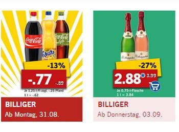 Lidl-Markenwoche mit Schnäppchen von Persil, Cola und mehr