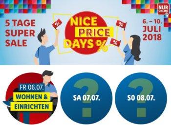 Lidl.de: Nice Price Days mit täglich wechselnden Gutscheinen