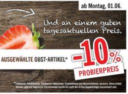 Lidl: Erdbeer-Rabatt von zehn Prozent bis Samstag