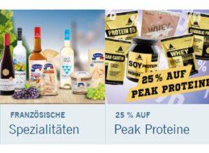 Lidl: Peak Proteine mit 25 Prozent Rabatt und Gratis-Versand