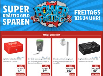 Lidl: Power-Freitag mit fünf Euro Extra-Rabatt und Gratis-Versand