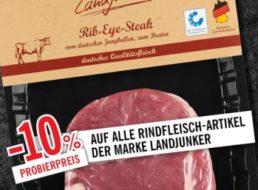 Lidl: Rindfleisch-Rabatt von 10 Prozent für wenige Tage