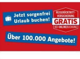 Lidl: Reiserücktrittversicherung gratis bei Buchung bis Ende Februar
