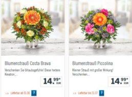 Lidl: Blumenstrauß für 9,99 Euro frei Haus dank Gutschein