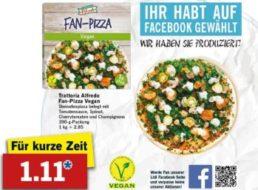 Lidl: Vegane Pizza ab Montag für 1,11 Euro im Angebot