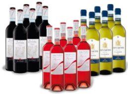 Lidl: Weinpaket mit 18 Flaschen für 30 Euro frei Haus