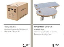 Lidl: Renovierung-Spezial mit Farbe, Umzugskartons und mehr