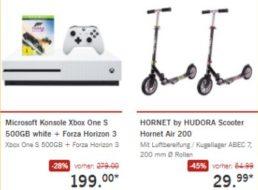 Lidl: Xbox One S mit Forza Horizon für 199 Euro frei Haus