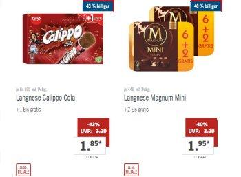 Lidl: XXL-Markenwoche mit Großpackungen bekannter Marken