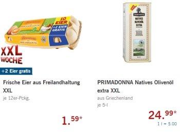 Lidl: XXL-Woche mit Fünf-Liter-Kanister Olivenöl für 24,99 Euro