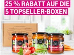 Little Lunch: Sechserbox Bio-Suppen für 13,84 Euro frei Haus via Telekom